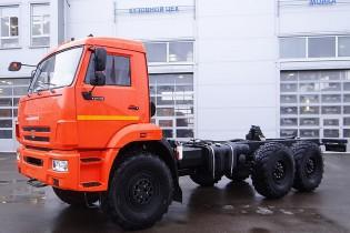 Продажа автомобиля KAMAZ-43118-50
