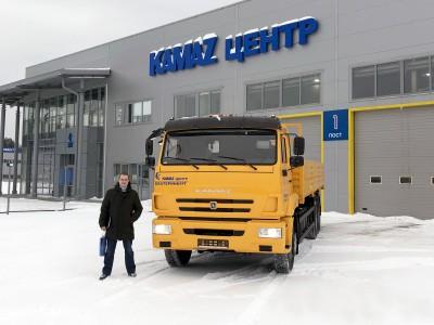 Отгружен бортовой КАМАЗ 65117
