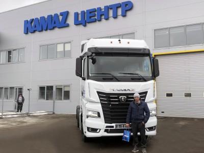 Отгружен седельный тягач КАМАЗ-54901