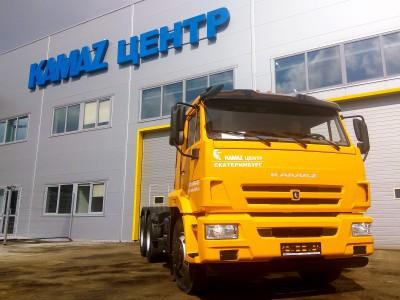 Отгружен тягач КАМАЗ 65116