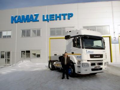 Отгружен КАМАЗ, работающий на природном газе