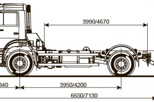 Продажа автомобиля ШАССИ KAMAZ-53605-48 (A5)