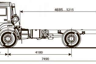 Продажа автомобиля ШАССИ KAMAZ-43502-66 (D5)