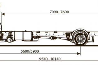 Продажа автомобиля ШАССИ KAMAZ-5308-48 (A5)
