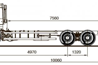Продажа автомобиля ШАССИ KAMAZ-65117-48 (А5)